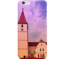 The village church of Kleinzell II | architectural photography iPhone Case/Skin