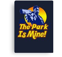 The Park Is Mine v2 Canvas Print