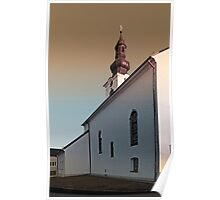 The village church of Lembach / Mkr III   architectural photography Poster