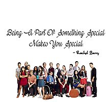 Being A Part Of Something Special Makes You Special Photographic Print