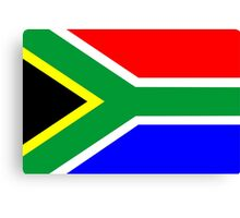 flag of South Africa Canvas Print
