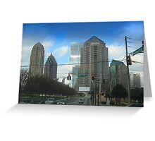 Peachtree and 10th Greeting Card