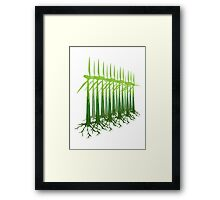 Green Power Framed Print