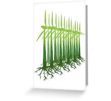 Green Power Greeting Card