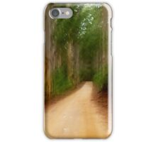 Forestry Road iPhone Case/Skin