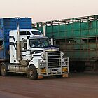 Kenworth Triple Roadtrains  by boydcarmody