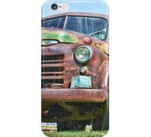 Old Work Truck iPhone Case/Skin