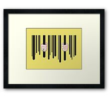 Greed Framed Print