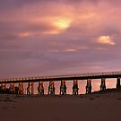 Kilcunda rail bridge by Tony Middleton