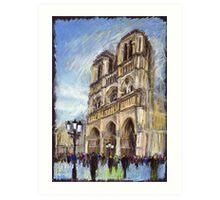 Paris Notre-Dame de Paris 1 Art Print