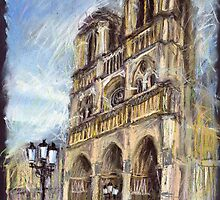 Paris Notre-Dame de Paris 1 by Yuriy Shevchuk