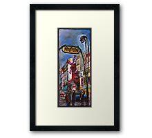Paris Mulen Rouge Framed Print
