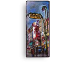 Paris Mulen Rouge Canvas Print