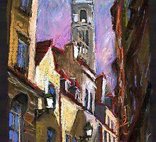 Paris Montmartre 1 by Yuriy Shevchuk