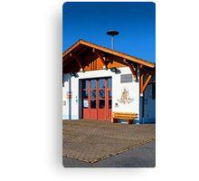 The new firestation of Neureichenau | architectural photography Canvas Print