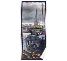 Paris Pont Alexandre III 1 Poster
