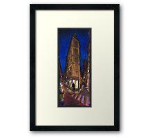 Paris Street 2 Framed Print
