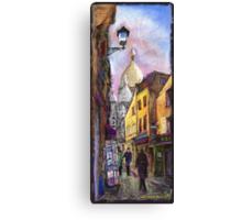 Paris Montmartre 2 Canvas Print