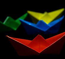 Paper Boat II by jerry  alcantara