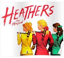 Heathers Logo  Poster
