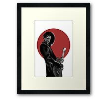 Japan Rocks Framed Print