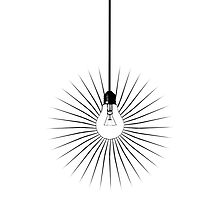Lightbulb by Ludwig Wagner