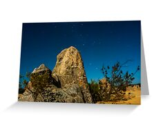Pinnacles in the Evening Greeting Card