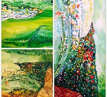 Landscape altered and redesigned by Nora Fraser