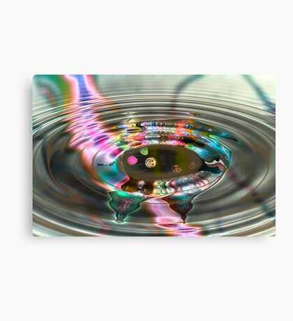Money By Distortion  Canvas Print