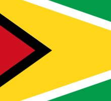 flag of guyana Sticker