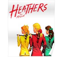 Heathers - tall Poster
