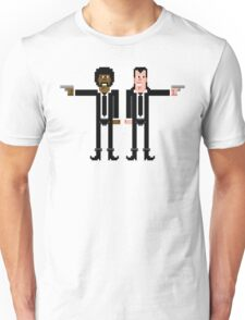 Pixel Vincent and Jules. Pulp Fiction. Unisex T-Shirt