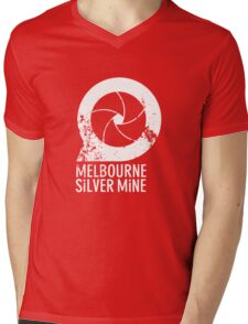Melbourne Silver Mine Tee #1 Mens V-Neck T-Shirt