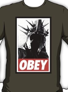 OBEY! Sauron's Witch King T-Shirt