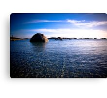 Humpback rock of Green Pool Canvas Print