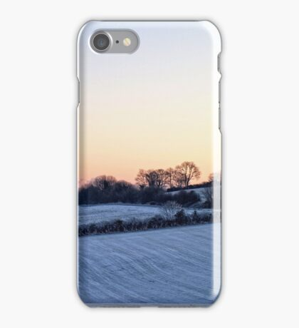 Snowfield Sunset iPhone Case/Skin