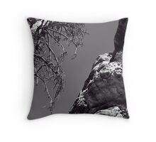 Desert Treescape Throw Pillow