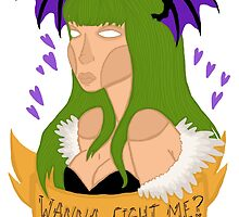 Wanna fight me? by Jazmine Phillips