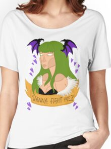 Wanna fight me? Women's Relaxed Fit T-Shirt