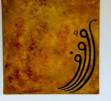 Arabic Calligraphy 5 by mona