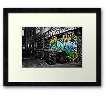 Dash of Paint Framed Print