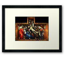 "BLACK GENESIS - ""The Glorification of Judas"" Framed Print"