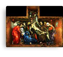 "BLACK GENESIS - ""The Glorification of Judas"" Canvas Print"