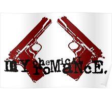 mcr guns sticker Poster