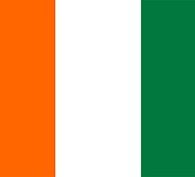 flag of ivory coast by tony4urban