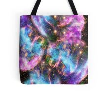 Galaxy Black Hole Tote Bag