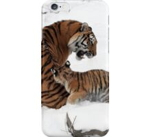 Tiger Family iPhone Case/Skin