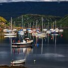 Tighnabruaich sailing club 2 by Geoff Carpenter