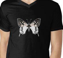 Big Butterfly Mens V-Neck T-Shirt