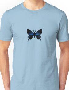 Tribally Blue Butterfly Unisex T-Shirt